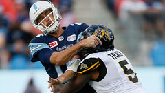 Argonauts 3-in-3: How can Toronto keep Ray upright?