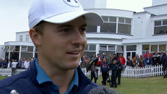 Spieth thrilled with back-nine response after adventure on 13