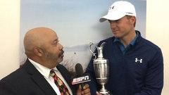 Spieth said nerves calmed after losing lead