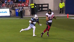 Harris, Sinopoli bring Redblacks within three late in the half