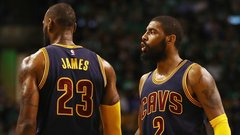 Irving's camp blaming LeBron for leaked news