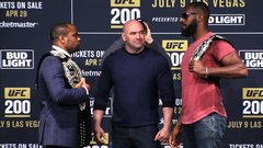 The last time Cormier-Jones II was booked