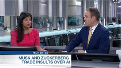 Elon Musk and Facebook CEO Mark Zuckerberg are taking shots at each other over recent comment's they've made over the future of AI. BNN's...