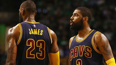 LeBron denies reported role in Kyrie saga