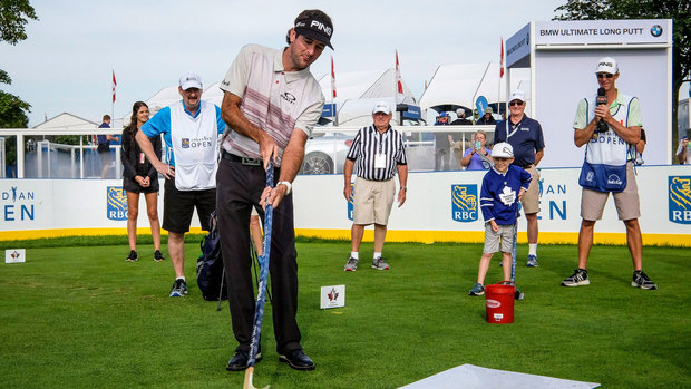 PGA pros take a shot at hockey