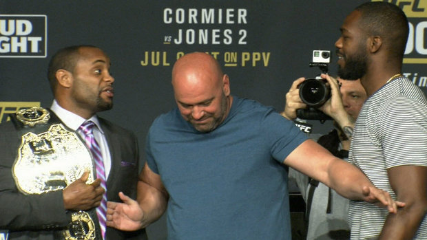 No love lost between Cormier and Jones