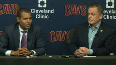 Amid Kyrie/LeBron drama, Cavaliers introduce new GM Altman