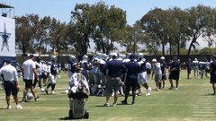Scuffle breaks out at Cowboys camp