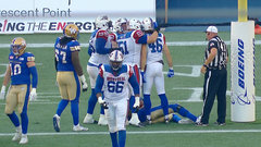 Als responds as Beaulieu powers in for his first career CFL TD