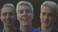 Were all members of Alberta Men's Volleyball into the bleached blonde hair look?
