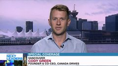 Canada's Next Leaders: Cody Green of fintech auto loan company Canada Drives