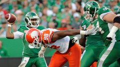 CFL: Lions 8, Roughriders 41
