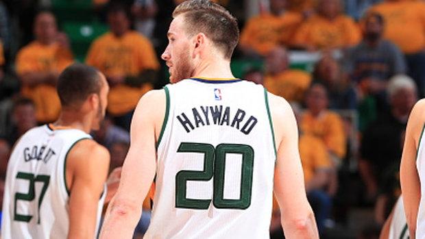 Will Hayward hear the boos from Jazz fans?