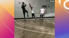 LeBron, Melo, KD take part in star-studded pickup game