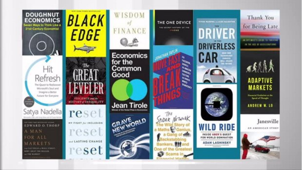 Pattie Lovett-Reid: Business books to add to your summer reading list