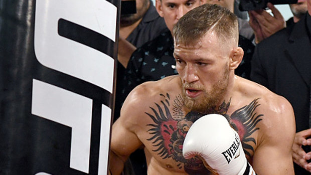 McGregor happy with change to smaller boxing gloves
