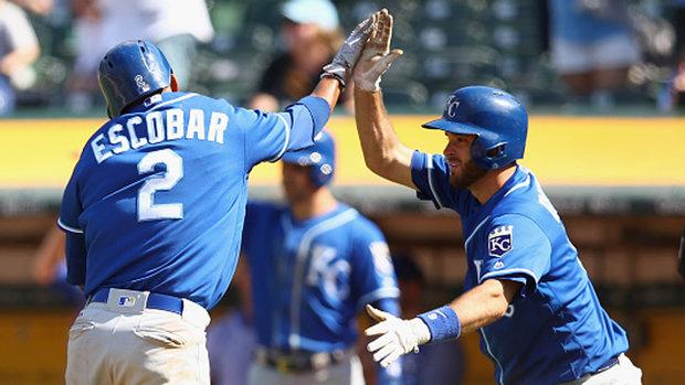MLB: Royals 7, Athletics 6