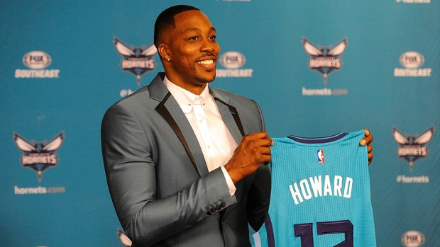 How steep is Dwight Howard's decline?