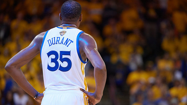Durant on skipping White House visit: 'I don't respect who's in office right now'