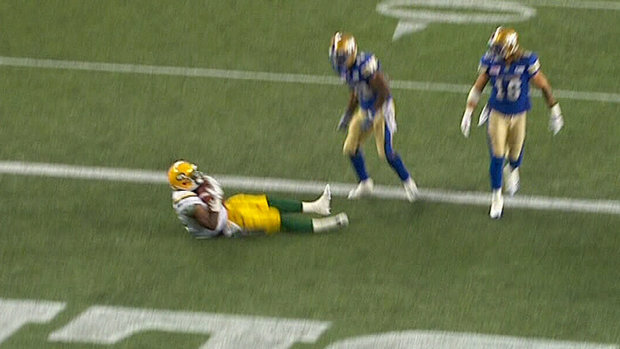CFL Must See: D'haquille Williams catches it on his back