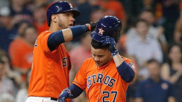MLB: Athletics 1, Astros 3
