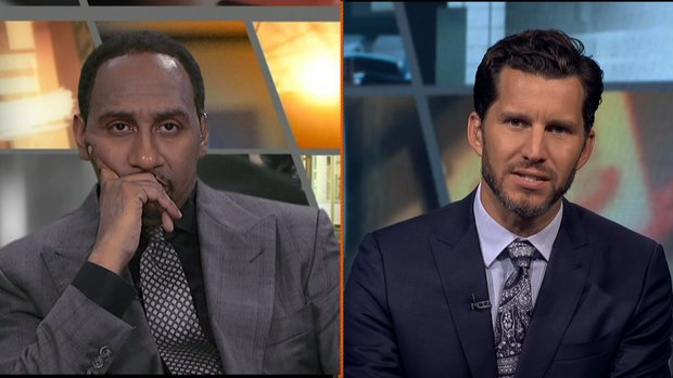 Durant's White House stance prompts First Take sparks
