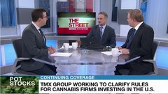TMX Group working to clarify rules for cannabis firms investing in U.S.