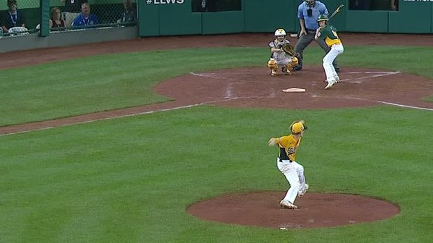 Must See: North Carolina completes combined perfect game at LLWS