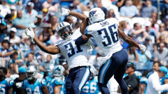 NFL: Panthers 27, Titans 34