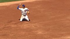Must See: Bryant makes a pair of spectacular defensive plays against the Jays