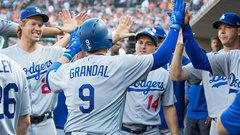 MLB: Dodgers 3, Tigers 0