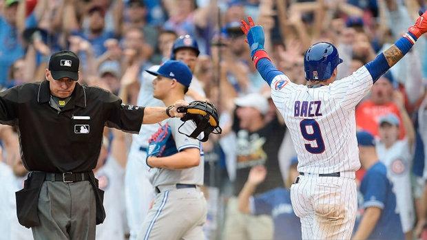MLB: Blue Jays 5, Cubs 6 (10)