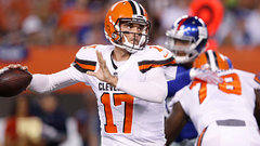 NFL: Giants 6, Browns 10