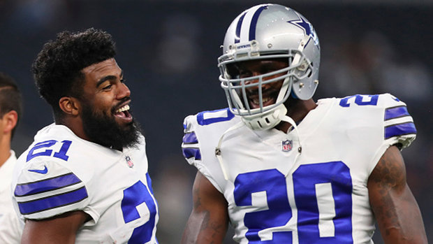 No Elliott, no problem for Cowboys' OL