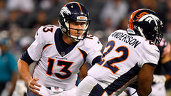 No surprise that Siemian is Broncos' starting QB