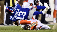 PTI: Was Boddy-Calhoun's preseason hit on Beckham Jr. dirty?