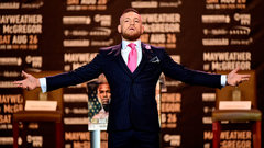 Hayes: There's a Rocky element to McGregor-Mayweather