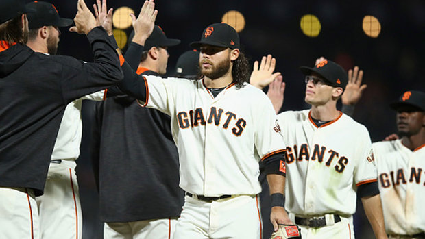 MLB: Brewers 0, Giants 2