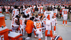 Peppers on taking a knee: 'We gotta unite in some way'