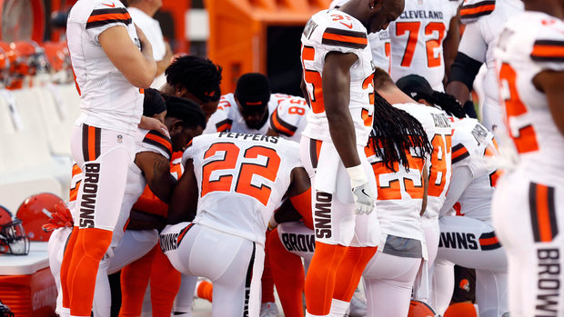 Browns' unity proves protest transcends football