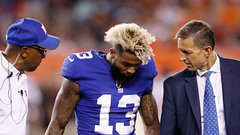 Beckham Jr. optimistic after ankle sprain, to have tests