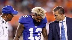 Beckham Jr. optimistic after ankle sprain, to have tests