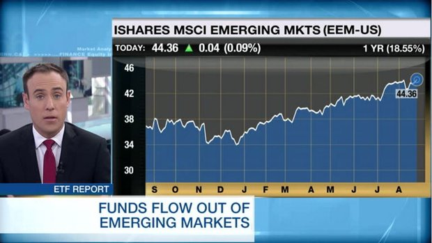 ETF Report: Funds flow out of emerging markets