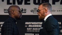 Mayweather/McGregor take their final verbal shots