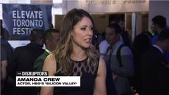 Actor Amanda Crew on Silicon Valley and being a real VC