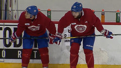 Galchenyuk reunited familiar faces at camp