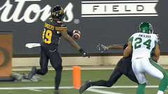 Saunders puts the Ticats on the board