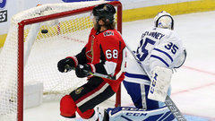 NHL: Maple Leafs 2, Senators 6