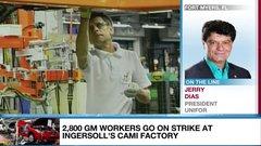 General Motors strike indicative of NAFTA woes: Unifor's Dias