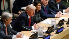 Trump threatens 'total destruction' of North Korea in UN address